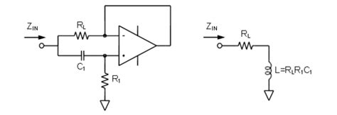 simulated inductor with op chapter 4 op applications advanced topics analog devices wiki