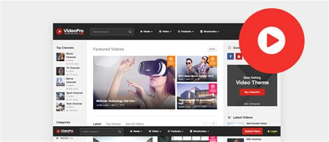 themes video 45 best wordpress video themes 2017 updated