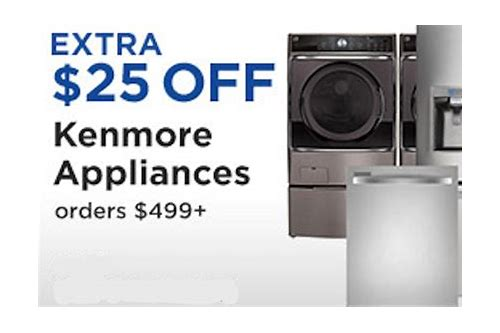 sears coupons for kenmore appliances