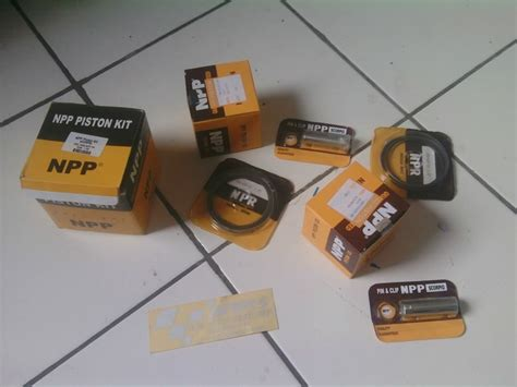 Npp Piston Kit Seher Kit Honda Tiger Oversize 2 50 piston npp japan yamaha scorpio advie motor racing shop