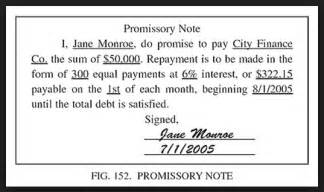simple promissory note real estate forms