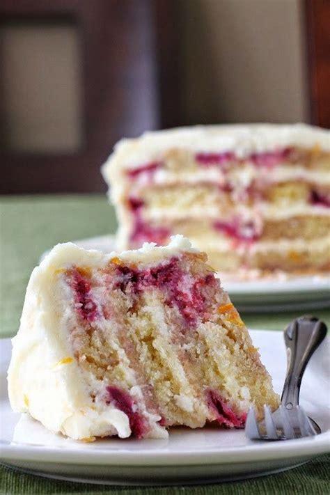 Iced Meyer Lemon Raspberry Yogurt Cake
