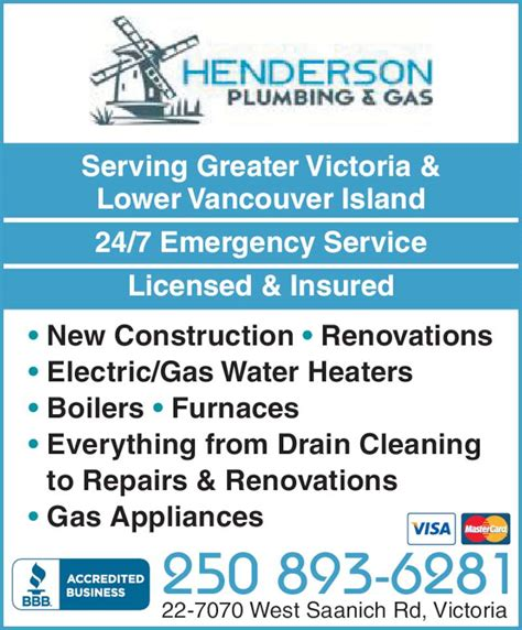 Henderson Plumbing by Henderson Plumbing And Gas Bc 22 7070 West