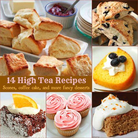 14 high tea recipes