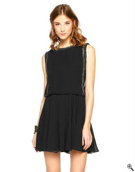 schwarzes swing kleid schwarzes kleid damen