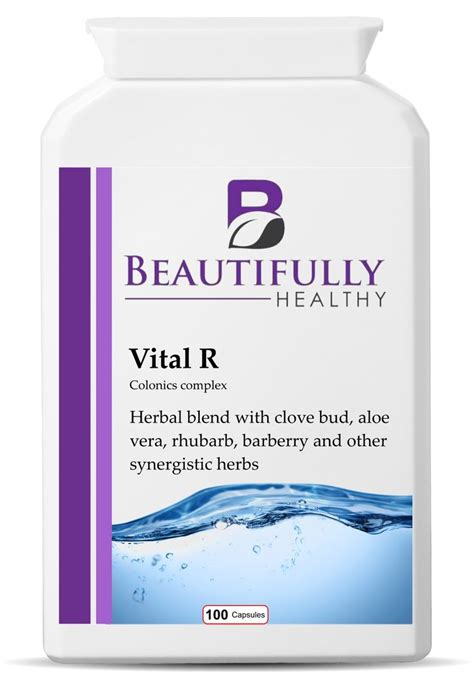 Rhubarb Complex Detox Reviews by Vital R Is A Herbal Colonics Complex With A Combination Of