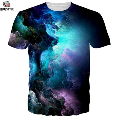 graphic pattern t shirt men s graphic t shirt 2017 cloud pattern 3d printed tshirt