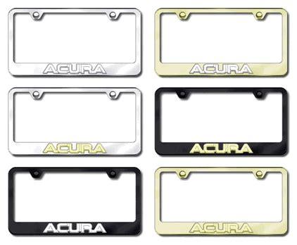 Frame Lf 2187 Pg acura 3d license plate frames license plate frames
