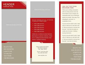 brochure template for docs docs tri fold brochure template template design