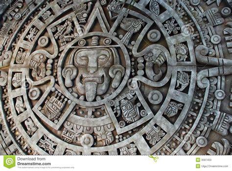 Calendario Solar Azteca Aztec Calendar Stock Photo Image Of Mayan Solar Macro