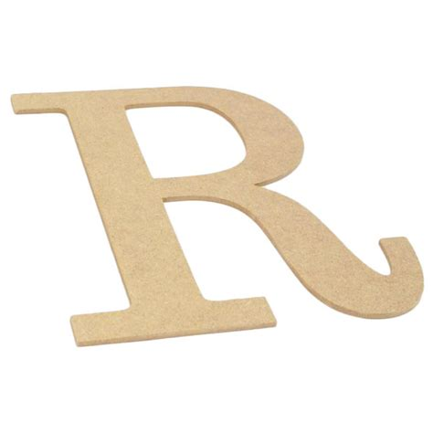 Decorative Wood Letters by 10 Quot Decorative Wood Letter R Ab2042 Craftoutlet