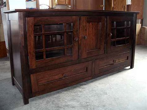Amish Handcrafted Furniture - 60 hill tv stand amish custom furniture