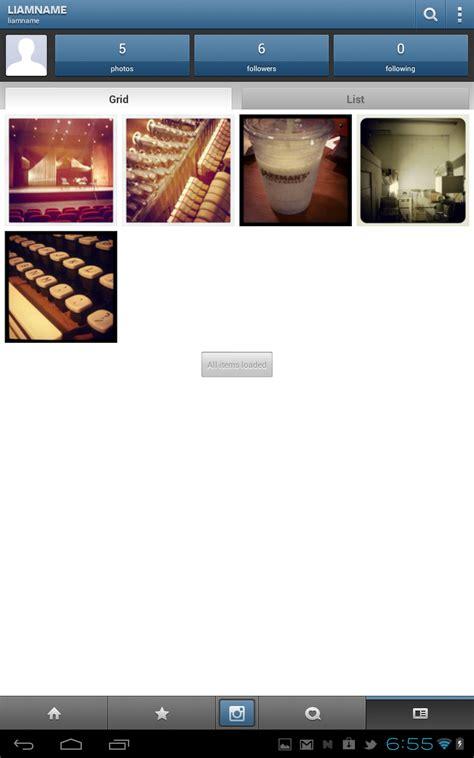 instagram for android tablets instagram update v1 0 3 brings support for tablets wi fi handsets sd installation