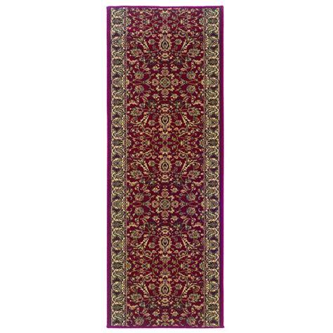 roll runner rugs natco stratford kazmir 26 in x your choice length roll runner 8265rdrn the home depot