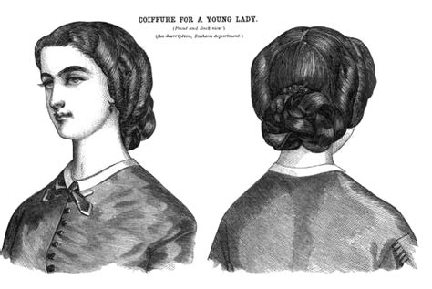 civil war era ladies hairstyles free vintage images pretty hairstyles civil war era