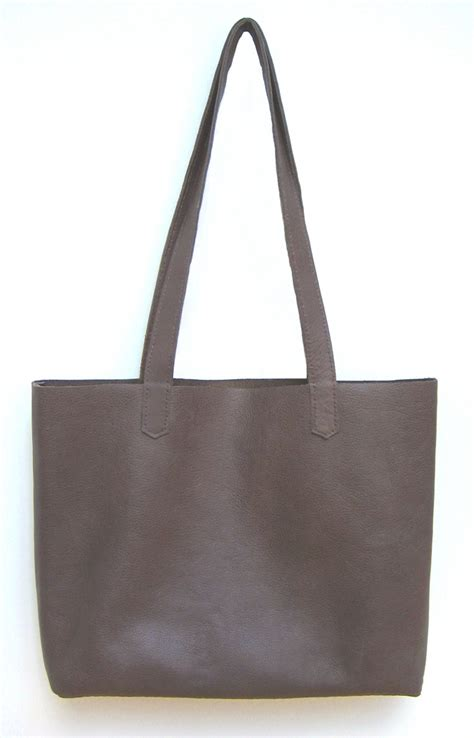 Simply Bag simple leather tote bag how did you make this luxe diy