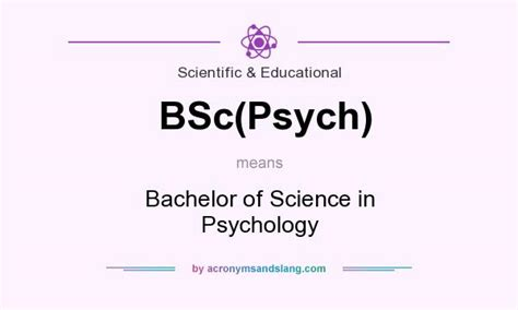 what does bsc psych definition of bsc psych