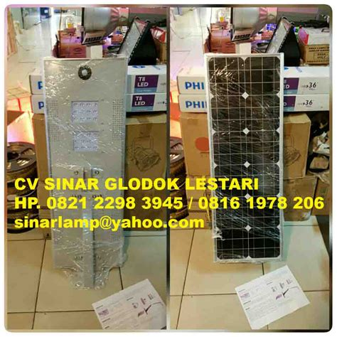 Pju Led Solar Cell All In One All Items solar cell dan panel surya system