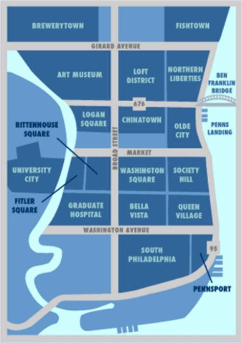 philadelphia neighborhood map images and places pictures and info philadelphia map neighborhoods