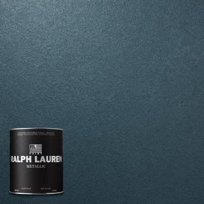 home depot ralph metallic paint colors ralph 1 qt rich blue metallic specialty finish
