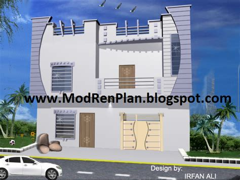 home design 4 marla 4 marla front elevation