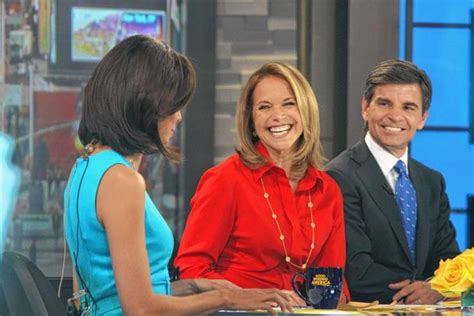 katie couric good morning america sarah palin tops katie couric in ratings ny daily news