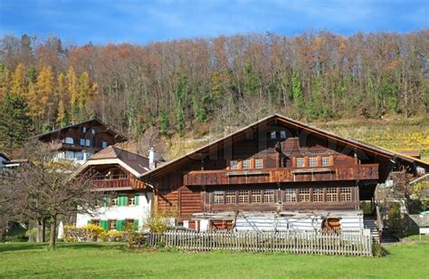 European House Plans With Photos by Traditional Swiss Farm House Canton Bern Switzerland