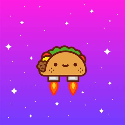 imagenes kawaii de tacos space taco gif by 100 soft find share on giphy