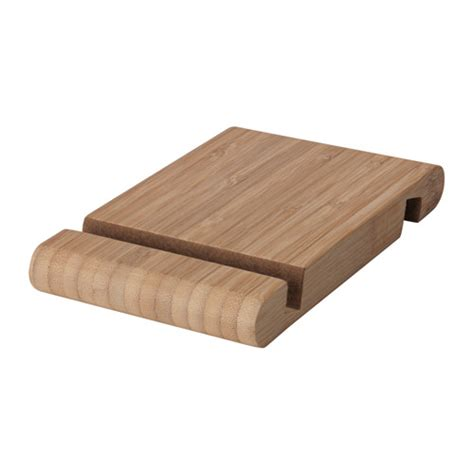 BERGENES Holder for mobile phone/tablet Bamboo   IKEA