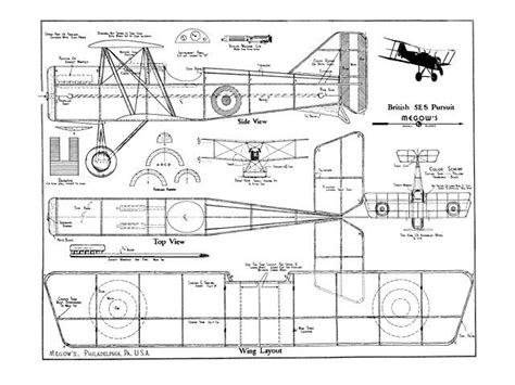 free rc plans vintage model aircraft plans woodworking projects plans