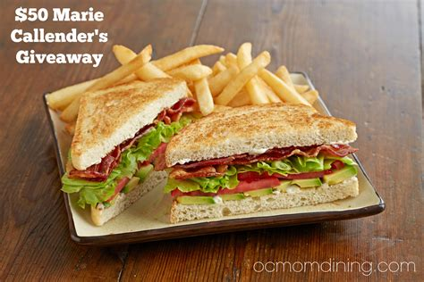 Marie Callender S Gift Card - marie callender s new crave save menu giveaway oc mom dining