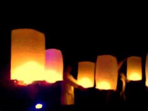 fiaccole volanti idea per matrimonio candel bags sacchetti luminosi ma