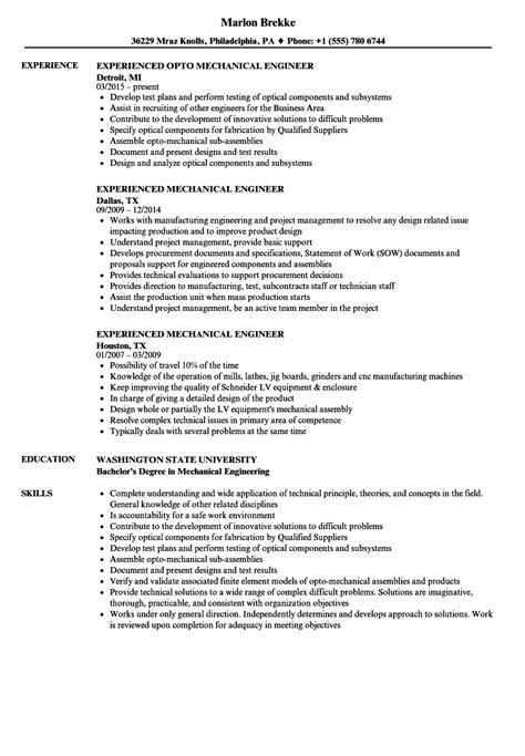 aircraft engineer resume