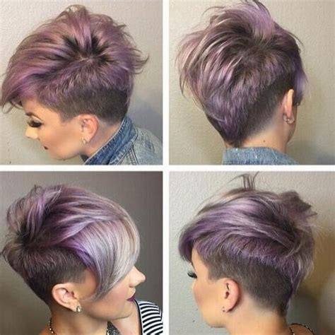 20 shaved hairstyles for women side shave short photo gallery of short hairstyles with shaved sides for