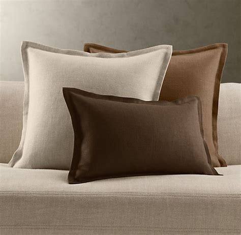 restoration hardware couch covers linen pillows linens and pillows on pinterest