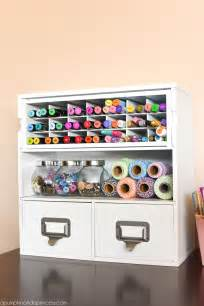 room organizer creative thrifty small space craft room organization ideas the happy housie