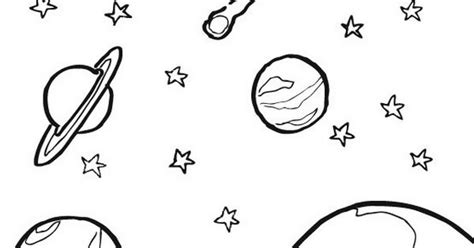 imagenes del universo infantiles ciclo escolar el sistema solar dibujos para colorear
