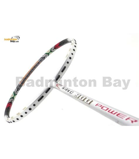 Raket Nano apacs nano 900 power white badminton racket