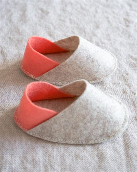 baby house shoes felt baby slippers purl soho