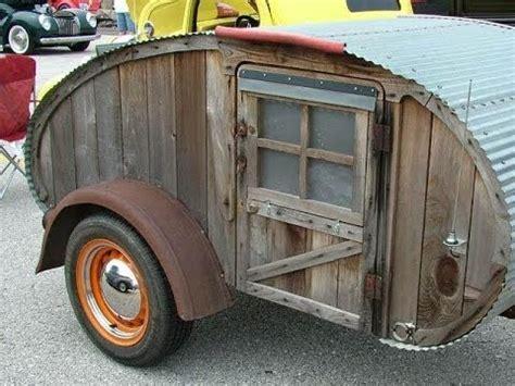100 tear drop trailers, diy homemade travel trailers, very