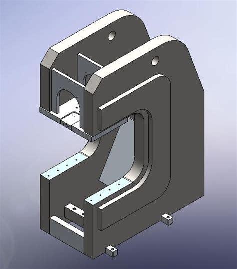 C Frame 2 c frame press design