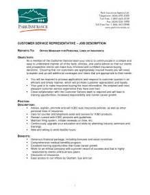 customer service description resume resume cover