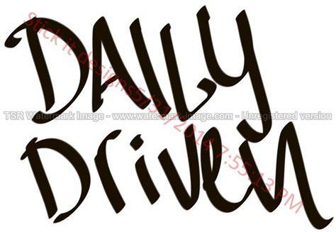 Decal Sticker Mobil Jdm Daily Driven Stiker Kaca 20 Cm daily driven style graffiti jdm racing die cut
