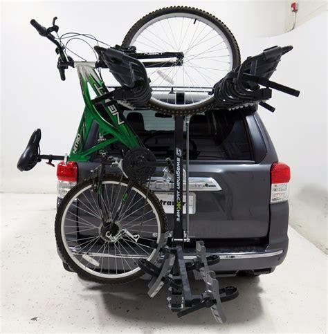 Swagman 4 Bike Rack by Swagman Jackknife 4 Bike Rack For 2 Quot Hitches Tilting