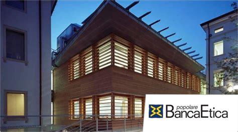 Banca Per Giovani by Banca Etica Offerte Di Lavoro Assunzioni In Italia