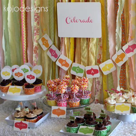 Home Design And Decor Ideas cupcake bar how to