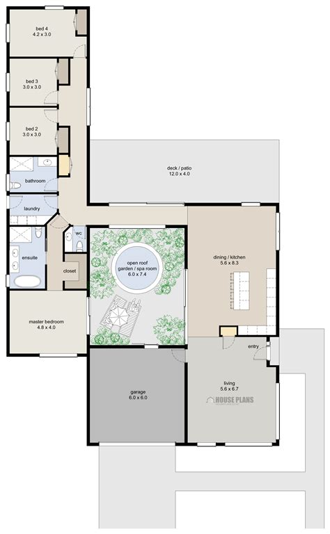 Contemporary 4 Bedroom House Plans by Zen Lifestyle 7 4 Bedroom House Plans New Zealand Ltd