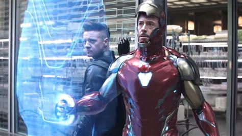 avengers endgame footage shows cool energy shield
