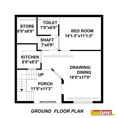 home design for 100 sq yard house plan for 30 feet by 30 feet plot plot size 100 square yards gharexpert com