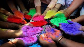 holi color colored powder no holi student voices